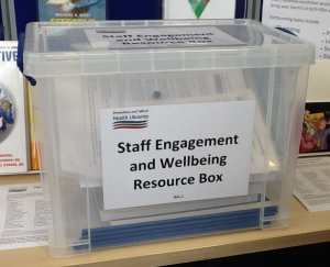 Staff Engagement box